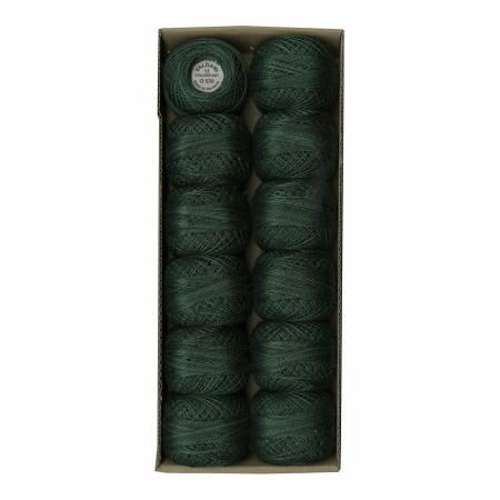 0539 Evergreens Valdani Variegated Pearl Cotton Ball Sz12 109yd Evergreens