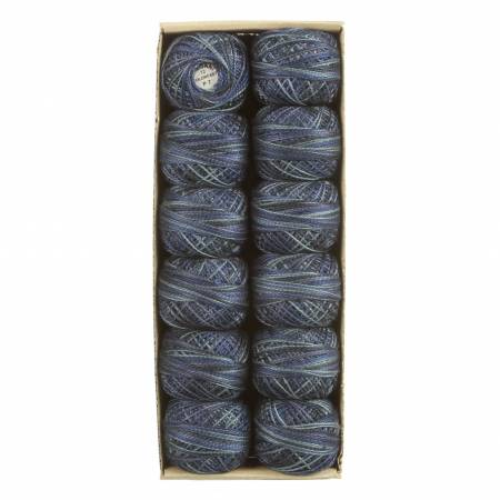 Valdani Thread Size 12 P 7 -  Withered Blue