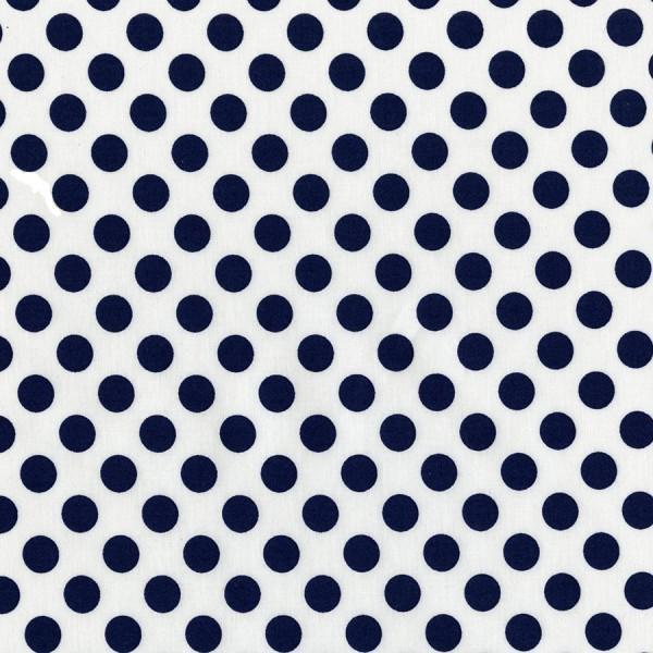 Navy Ta Dot by Michael Miller