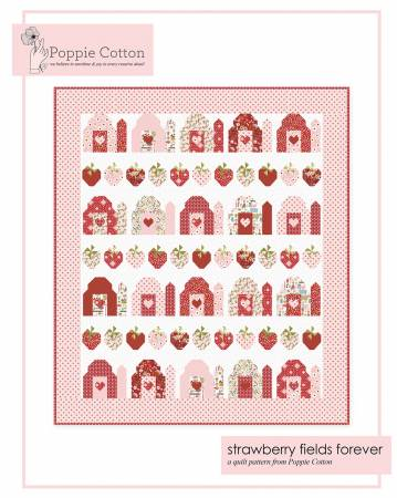 Quilt Pattern Farm Girls Unite Strawberry Fields