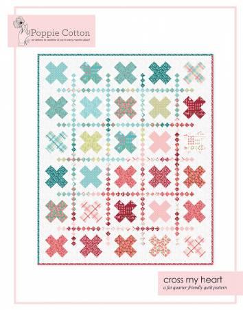 Quilt Pattern Kaisley Rose Cross My Heart