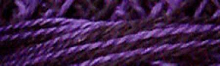 Valdani Perlé Cotton - 8wt - Multi-colored-92 - Black & Indigo