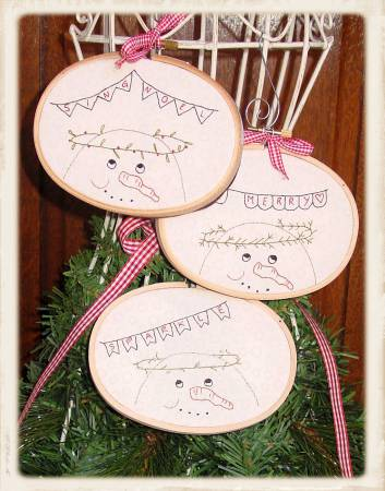 Frosty Friends Ornaments