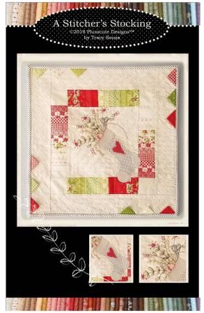A Stitcher's Stocking Cotton/Wool Kit