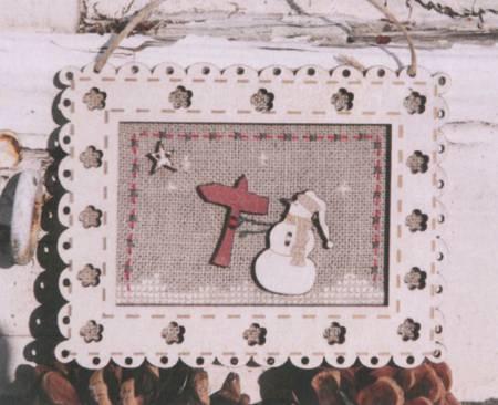 Cross Stitch Pattern - Snowman