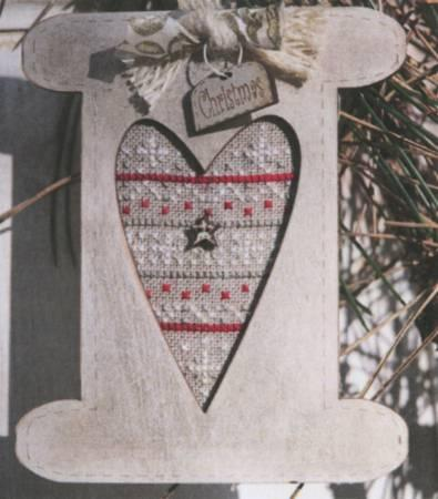 Cross Stitch Pattern - Christmas Gold Spool