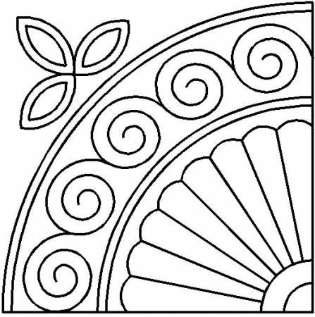 Stencil Durham Fan 9in