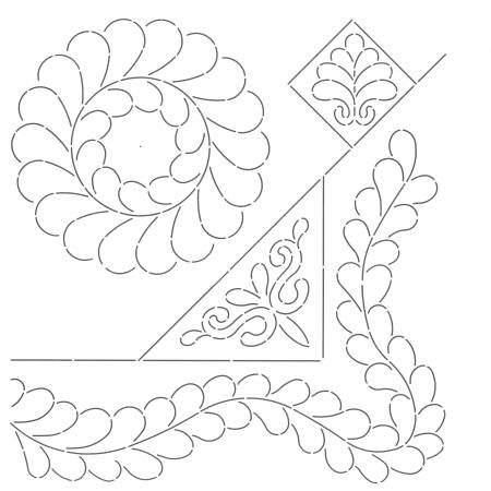 Fine Feathers Designs Stencil