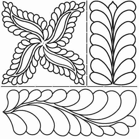 Fab Feather Stencil