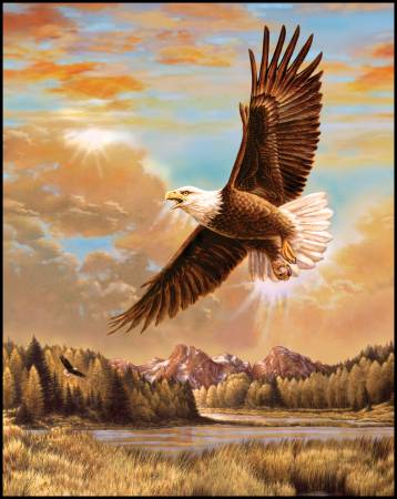 Majestic Digital Panel With Eagle