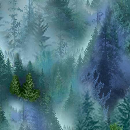 Multi Forest Softie Minky Digital
