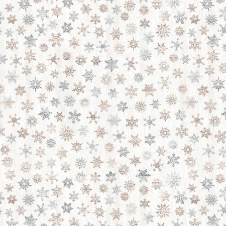 PD7477-Cream Rustic Light Snowflakes