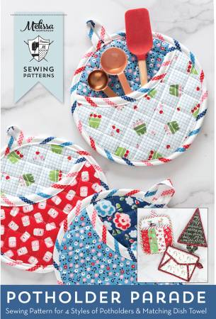Pot Holder Parade Sewing Pattern