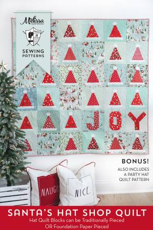 Santa's Hat Shop Quilt Pattern