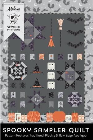 Spooky Sampler Quilt Pattern 54687