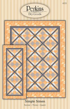 Simple Simon Pattern by Perkins Dry Goods #203 *