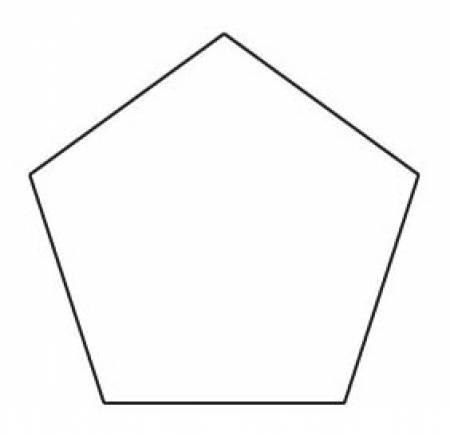 1in Pentagon Papers (100 pieces per bag)