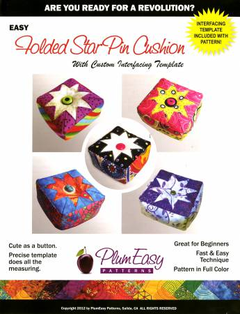 Folded Star Pin Cushion