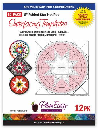 Hot Pad Interfacing Templates each