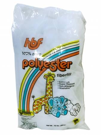 HBF Polyester Fiberfill 12oz Bag