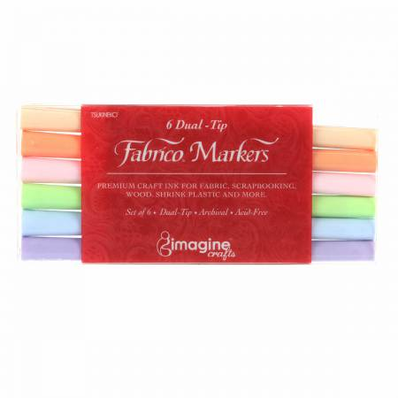 Fabrico Marker Set Sorbet Colors  Previously Item PF-6-SORBER