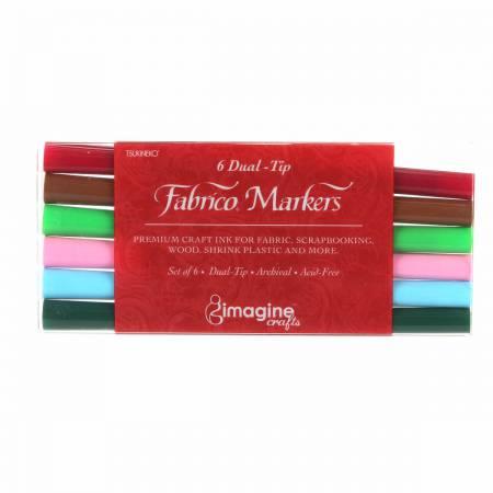 Fabrico Marker Set Arboretum Colors