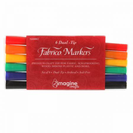 Fabrico Marker Set Standard Colors
