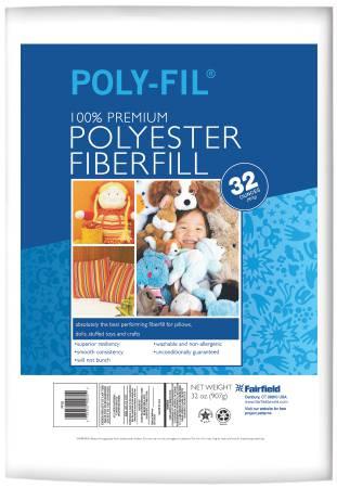 Poly-Fil Stuffing 32oz  PF32