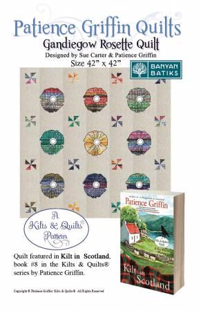 Gandiegow Rosette Quilt Pattern