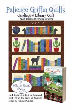 Gandiegow Library Quilt Pattern