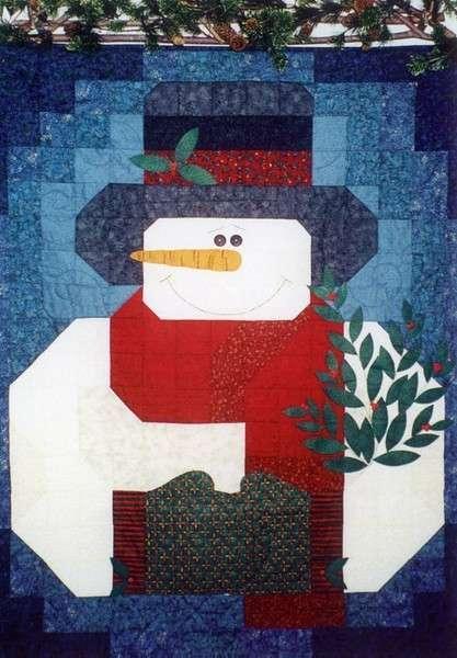 My Snowman Quilt - Pattern