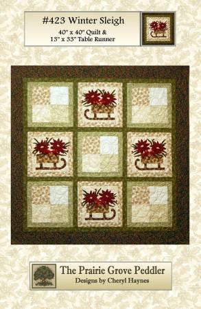 Winter Sleigh - Pattern