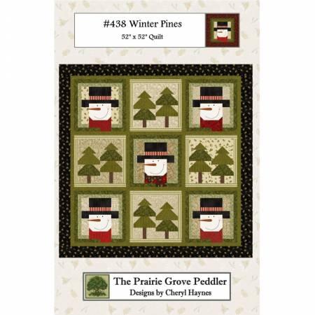Winter Pines Pattern