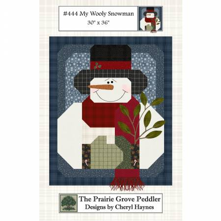 My Wooly Snowman Kit  (Fabric Only)