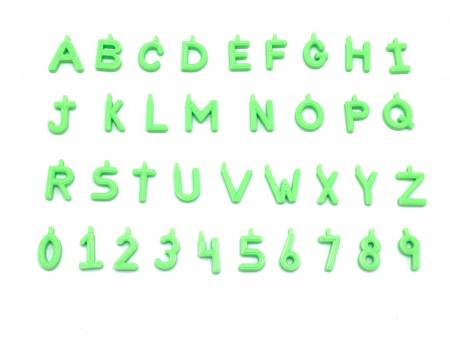 Pinnable Quilt Block Markers Green
