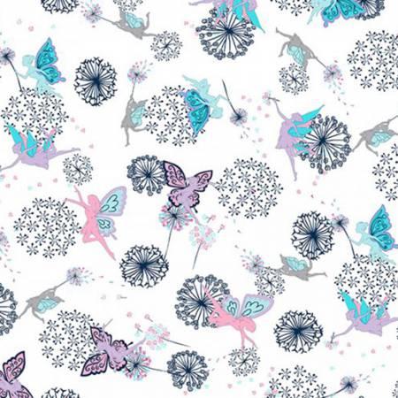 Shannon Fabrics Pixiedust Navy Minky Cuddle 840048708601