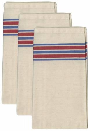 Aunt Martha's Americana Stripe Herringbone Towels