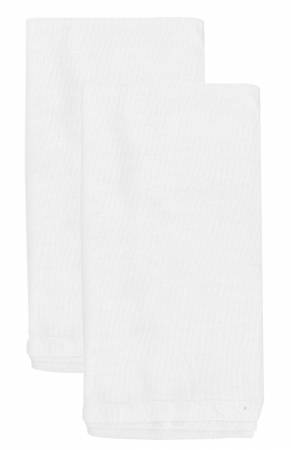 Aunt Martha's Old Fashion Flour Sack Towels 18in x 28in Pkg of 2