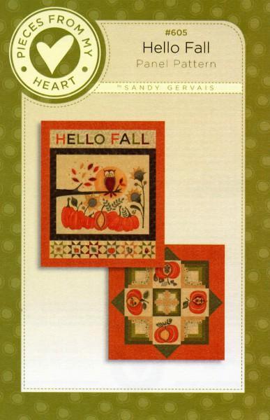 Hello Fall Panel