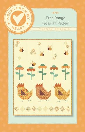 Free Range - Pieces from my Heart Pattern #714