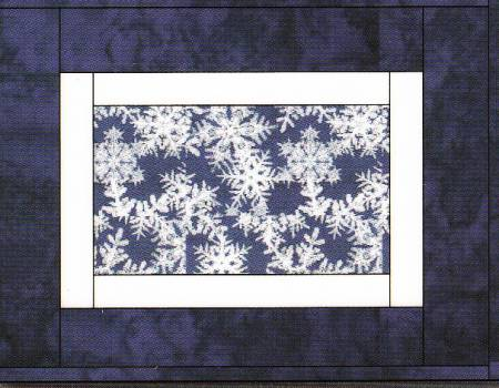 Framed Seasons -  Quilt-As-You-Go Placemats