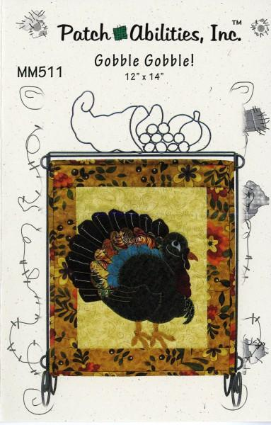MM511 Monthly Minis November Gobble Gobble! Patch Abilities, Inc.