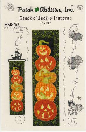 Stack O Jack Lanterns - Patchabilities-Monthly Mini - MM610
