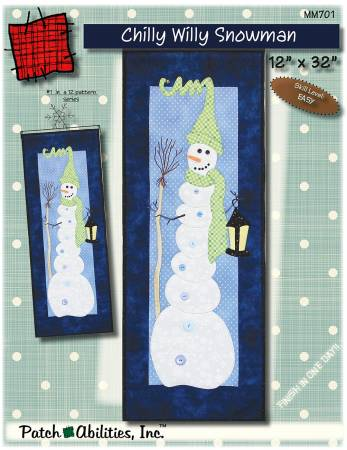 Monthly Mini - Chilly Willy Snowman