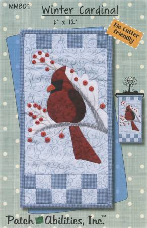 Monthly Mini Series - Winter Cardinal