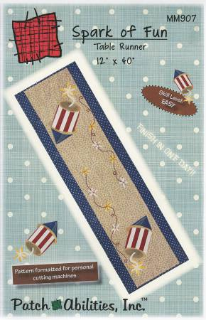 Spark of Fun Table Runner Kit