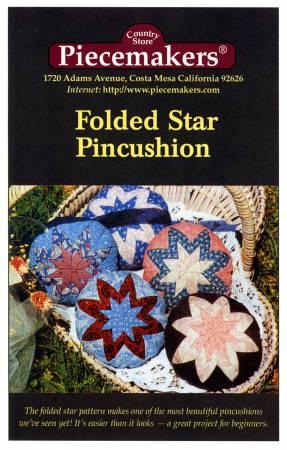 Folded Star Pincushion