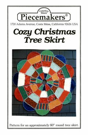 Cozy Christmas Tree Skirt Pattern