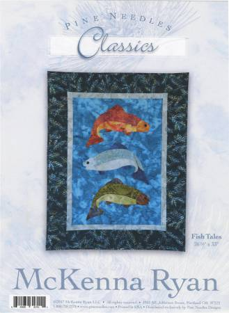 Fish Tales Kit by McKenna Ryan - a Pine Needles Classics