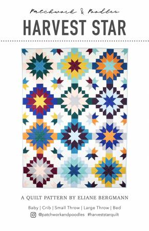 Harvest Star Quilt Pattern